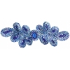 Motif Sequin 20.5x7cm Royal Blue with matching Centre Stone